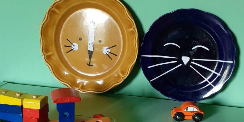 Les Polinsons - Les assiettes décorées