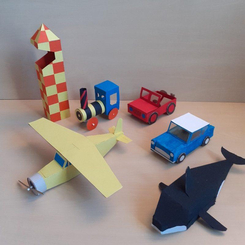Les Polinsons - Maths et maquettes