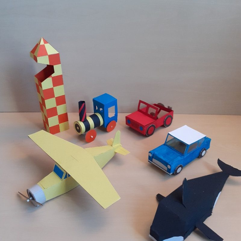 Les Polinsons - Confection de maquettes