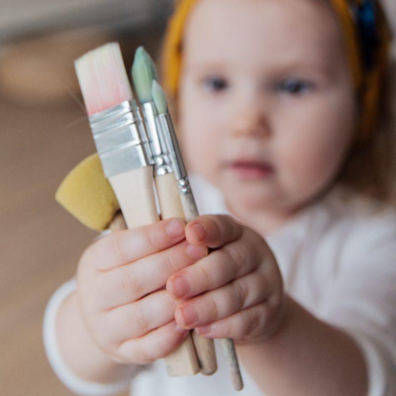 Les Polinsons - Les petits artistes – le week-end !